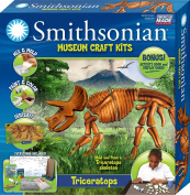 Smithsonian / Triceratops PerfectCast Museum Craft Kit