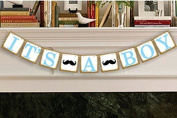 It's a Boy Banner Baby Shower Garland, Baby shower Decoration, Photo Booth Props, New Contemporary Design from UsASales Seller
