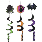 Classic Halloween Icon Wind-Spinners (asstd designs) Party Accessory (1 count)