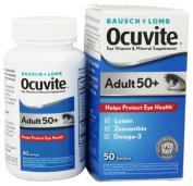 Bausch & Lomb Ocuvite Adult 50+ Eye Vitamin & Mineral Supplement - 150 Softgels , Bausch-jy
