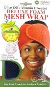 Donna Deluxe Foam Mesh Wrap, Olive Oil + Vitamin E Treated - #22007 Navy