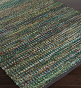 Surya by Papilio POE-8000 Hand Woven Textural Area Rug, 1.2m by 1.8m