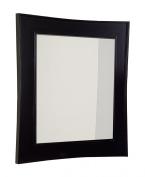 American Imaginations AI-106-54 Transitional Birch Wood-Veneer Wood Mirror, 80cm x 90cm , Dark Mahogany