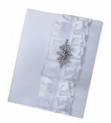 Ivy Lane Design Isabella Wedding Memory Book, White