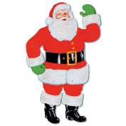 Beistle 1-Pack Jointed Santa, 70cm