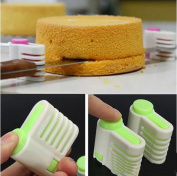 5 Layers Kitchen DIY Cake Bread Cutter Leveller Slicer Cutting Fixator Tools SY