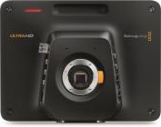 Blackmagic Design Studio 4K Camera with MFT Lens Mount, 25cm Viewfinder, 12G-SDI & Optical Fibre Video I/O, Built-in Talkback, XLR Audio, 4 Hour Battery