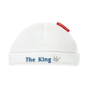 Silly Souls The King Cool Baby Boy Hat White