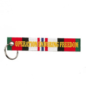 Operation Freedom And Veteran Key Chain - Operation Iraqi Freedom W01S44E