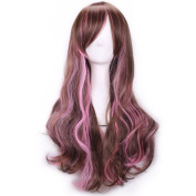 65cm Long Wave Curly Lolita Style Colsplay Wigs For Daily Fashion And Halloween