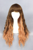 60cm Long Wave Curly Lolita Style Wigs For Women/Ladies/Girls' Daily Fashion And Halloween Cosplay