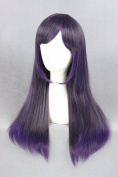 60cm Lolita Style Long Stright Wigs For Woman Daily Makeup And Halloween Cosplay