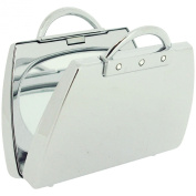 "FMG ""Handbag"" Shaped Compact Mirror Suitable For Engraving SC1087"