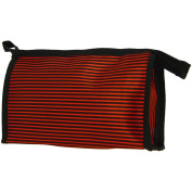 City Make-Up Bag Stripy Red