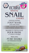"Exfoliating Foot Mask with Snail Extract Regular Size - ""Sock type"" Foot Exfoliating Mask - Perfectly Peel Away Calluses and Dead Skin Cells in Just 2 Weeks!!! - 1 Pair"