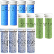 Micro Mineral Replacement Rollers Compatible With Emjoi Micro Pedi (10cm Each Pack) Select Your Products (Blue