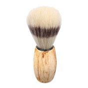 handle made shaving brush from flagging Beech