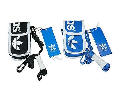 e369646042 Adidas Originals Linear Mini Bag New Sealed Neck Pouch Blue White ...