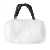 Fashion Gallery Cute Lovely Fur Mini Handbag Clutch Winter Bag Purse