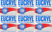 Eucryl Original Stain Removing Toothpowder 50g x 12 Packs
