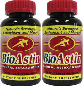 Nutrex BioAstin - Hawaiian Astaxanthin Supplement 120 Gelcaps 2 PACK