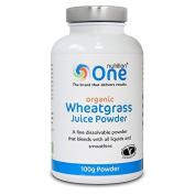 One Nutrition 100 g Organic Wheatgrass Juice Powder