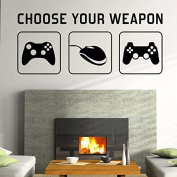 """""""CHOOSE YOUR WEAPON"""" 