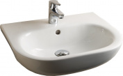 Rak Ceramics TONSRBAS1 52 cm Tonique Semi Recessed Basin 1th