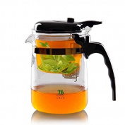 76 Taiwan Brand Automatic Glass teapot /Coffee Cup/coffee Pot with Infuser