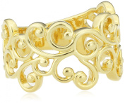STORY by Kranz Ziegler & AMP; Women's RING STORY Charm Silver Gold-Plated 925 Silver-Filigree 5905431