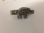 Richard III Boar R3BPPIN English Pewter emblem on a Tie Clip 4cm long