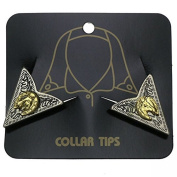 Collar tips with Horseshoe and Horse's head, Collar tips, Western