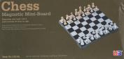 Kobwa(TM) UB 16cm Travel Magnetic Chess Mini Set(Black and White) with Kobwa's Keyring