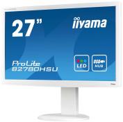 IIYAMA B2780HSU-W1 - 27Wide Screen TFT-LCD : LED Backlight : White Case : Full HD Panel USB Hub (Manufacturer's SKU:B2780HSU-W1)'
