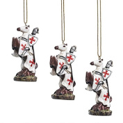 Design Toscano Order of the Teutonic Knights Holiday Ornament Collection