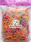Blyyasgi™small Size Tpu Baby Girl Kids Hair Holders Elastic Rubber Bands Hair Tie for Styling