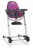 Inglesina Zuma Highchair, Grey/Fuchsia