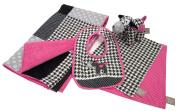 Trend Lab Serena Gift Set, Pink, 5 Piece
