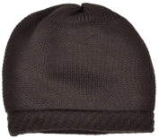 Simplicity Unisex Fashionable Stretchy Winter Warm Knitted Beanie Hat, 3-Brown