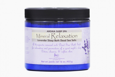 Therapeutic Dead Sea Salt & Lavender Mineral Relaxation Bath Salt
