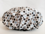 Chrome Dots Shower Cap