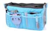 BeautyLife Handbag Organiser ,Organiser Large, Insert, Travel Bag, 12 Pockets
