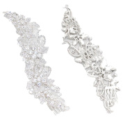 Bridal Hair Comb Elegant Clear Crystal Gorgeous Fancy