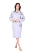 XMW Professional Hairdressing Kimono Light Grey