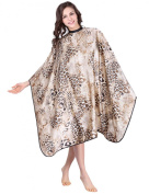 XMW Water Repellent Leopord Styling Cape Gream