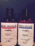 Calming Shampoo & Conditioner Lime Chamomile - Vegan, Gluten Free, GMO Free, No Animal Testing. Made in USA