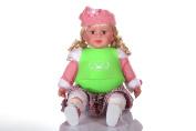 DREAM BEAR® Soft Wearable Baby Bib, Food-grade Silicone,Green/Pink