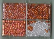 Bead Bazaar Small Seed Bead Kit - #303 Orange
