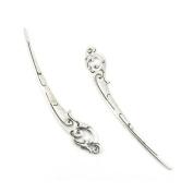 1 PCS Jewellery Making Charms Y3JU9T Phoenix Bookmark Hairpin Antique Silver Tone Necklace Bracelet Repair Bulk Lots Pendant Findings
