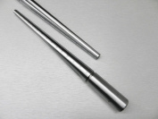 RING MANDREL SOLID STEEL jewellery MAKING SIZER GROOVED GRADUATED MARKED SIZE 1-15 (LZ 1.9 FRE) NOVELTOOLS